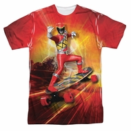 Power Rangers Shirt Skating Sublimation Shirt