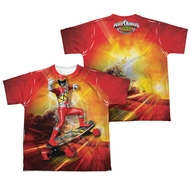 Power Rangers Shirt Skating Sublimation Youth Shirt
