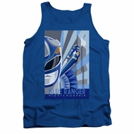 Power Rangers Shirt Tank Top Blue Ranger Blue Tanktop