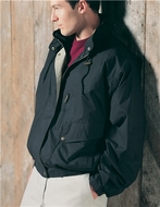 Premium Quality Men's Tall Sizes Water Resistant High Peak Jacket