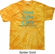 Prostate Cancer Hope Love Cure Tie Dye T-shirt