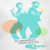 Psych Predict And Serve Shirts