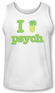 Psych Tank Top I Like Psych White Tanktop