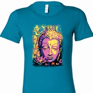 Psychedelic Buddha Ladies Yoga Shirts