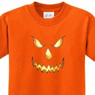 Pumpkin Head Kids Halloween Shirts