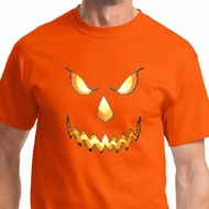 Pumpkin Head Mens Halloween Shirts