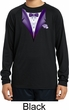 Purple Tuxedo Kids Moisture Wicking Long Sleeve Shirt