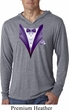 Purple Tuxedo Lightweight Hoodie Shirt