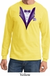 Purple Tuxedo Long Sleeve Shirt