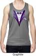 Purple Tuxedo Mens Moisture Wicking Tanktop
