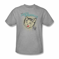 Puss N Boots Shirt Cat's Pajamas Athletic Heather T-Shirt