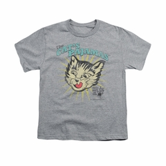 Puss N Boots Shirt Kids Cat's Pajamas Athletic Heather T-Shirt
