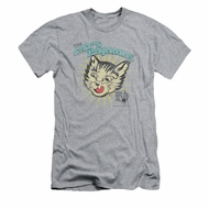 Puss N Boots Shirt Slim Fit Cat's Pajamas Athletic Heather T-Shirt