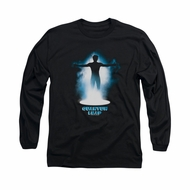 Quantum Leap Shirt First Jump Long Sleeve Black Tee T-Shirt