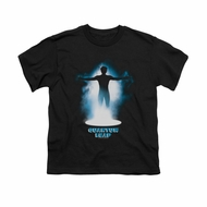 Quantum Leap Shirt Kids First Jump Black T-Shirt