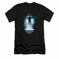 Quantum Leap Shirt Slim Fit First Jump Black T-Shirt