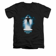 Quantum Leap Shirt Slim Fit V-Neck First Jump Black T-Shirt