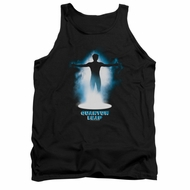 Quantum Leap Shirt Tank Top First Jump Black Tanktop