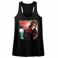 Quiet Riot Juniors Tank Top Metal Health Album Black Racerback