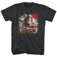Quiet Riot Shirt Critical Condition Album Black T-Shirt