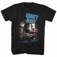 Quiet Riot Shirt Critical Condition Black T-Shirt