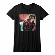 Quiet Riot Shirt Juniors Metal Health Album Black T-Shirt