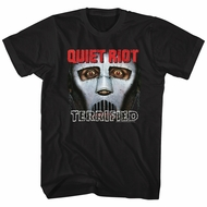 Quiet Riot Shirt Terrified Album Black T-Shirt