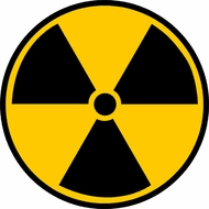 Radiation Fallout Symbol T-shirts