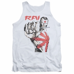 Rai Valiant Comics Tank Top Sword Drawn White Tanktop