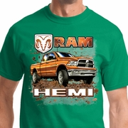 Ram Hemi Trucks Mens Dodge Shirts