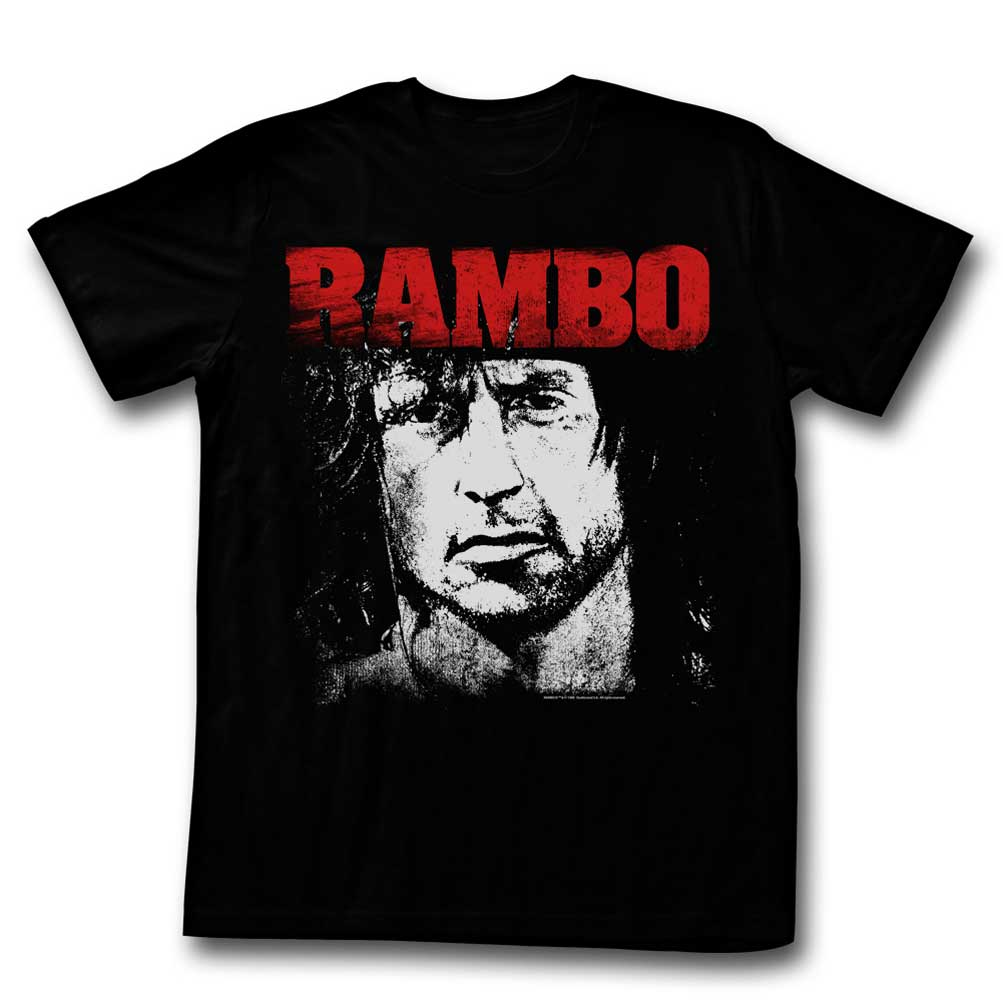 Rambo shirt distressed photo black t shirt rambo shirts for How to make a distressed shirt