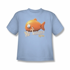 Rango Shirt Kids Mr Timms Light Blue Youth Tee T-Shirt