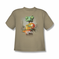 Rango Shirt Kids Poster Sand Youth Tee T-Shirt