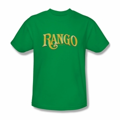 Rango Shirt Logo Adult Kelly Green Tee T-Shirt