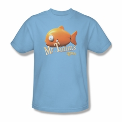 Rango Shirt Mr Timms Adult Light Blue Tee T-Shirt