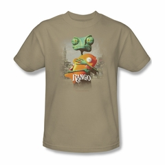 Rango Shirt Poster Art Adult Sand Tee T-Shirt