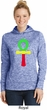 Rasta Ankh Ladies Moisture Wicking Hoodie