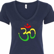 Rasta Aum Ladies Shirts