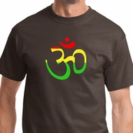 Rasta Aum Mens Shirts
