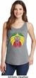 Rasta Lion Head Ladies Tank Top
