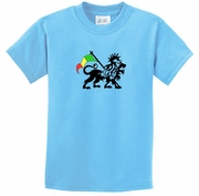 Rasta Lion Kids Shirts