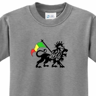 Rasta Lion Kids T-shirt