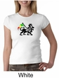 Rasta Lion Ladies Crewneck Shirt