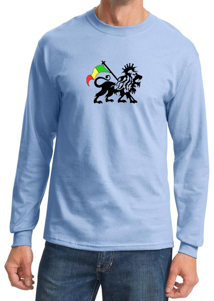 rasta lion long sleeve shirt rasta lion shirts