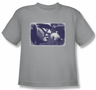 Ray Charles Kids Shirt Laying Tracks Silver Youth Tee T-Shirt