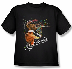 Ray Charles Kids Shirt Soul Black Youth Tee T-Shirt