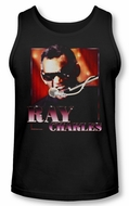 Ray Charles Tank Top Shirt Sing It Black Tee T-Shirt