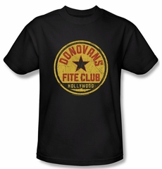 Ray Donovan Shirt Fite Club Adult Black Tee T-Shirt