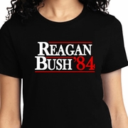 Reagan Bush 1984 Ladies Shirts