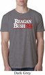 Reagan Bush 1984 Mens Burnout Shirt